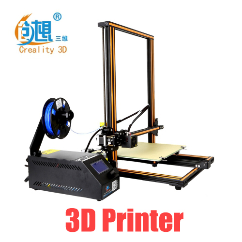 Creality3D CR-10 3D Printer Large Size Desktop DIY Printer LCD Screen Display with Off-line Printing Function portable cr 7 mini 3d printer fdm lcd off line printing self assembly diy kit lightweight for artistic design free shipping