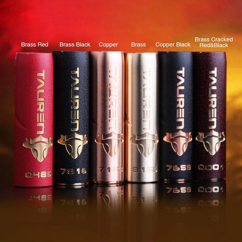 Original THC Tauren Mech Mod w/ Innovative 360 Full Contact Button & Unique Luxury Painting Finish Mod Tauren VS Elite Mech MOD