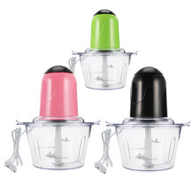 2L Powerful Meat Grinder Multifunctional Household Electric Food Processor Stainless Steel Meat Cutter Blender Chopper Electric