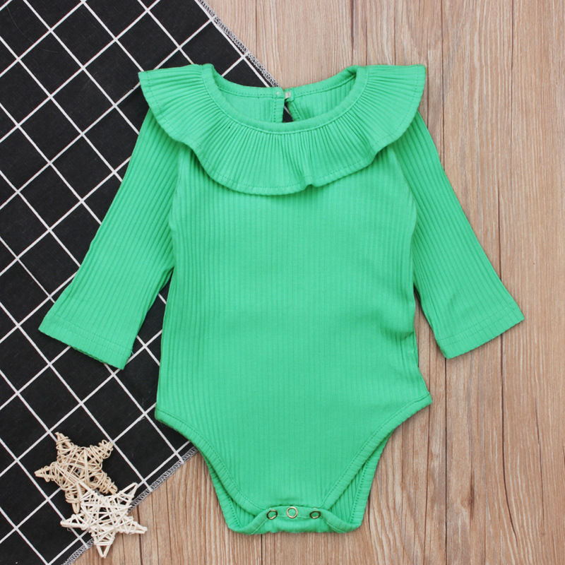 On Sale Baby Rompers Long Sleeve Girls Clothing Newborn Clothes Cotton Baby Girl Clothes Toddler Infant Clothes Baby Jumpsuits