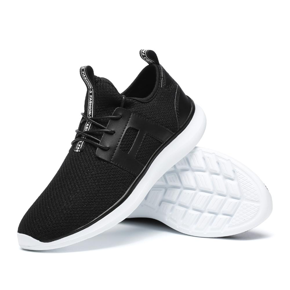 2018 new Men Sneakers Mesh Shoes Summer Fashion Men Footwear Breathable Lace up Flats Casual Shoes 39-48