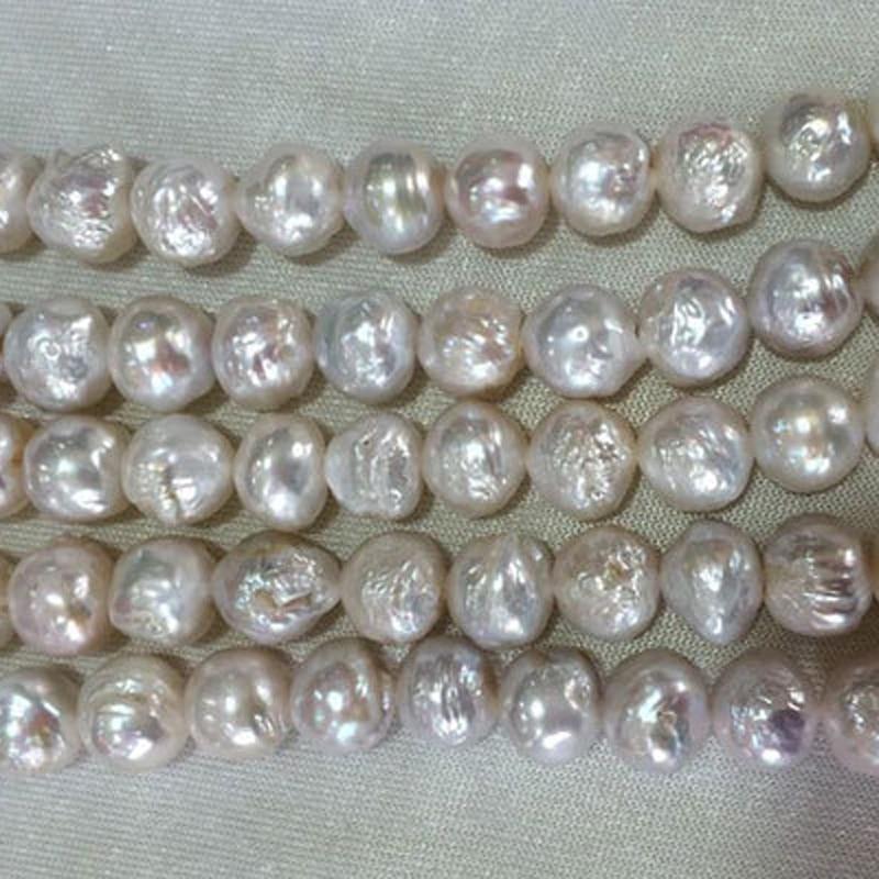 Купить оптовая продажа 10 11 мм натуральный белый круглый большой жемчуг