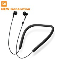 Original Xiaomi Necklace Wireless Bluetooth Earphone Earbuds with Mic and In line Control Young Version Volume Control Earphones