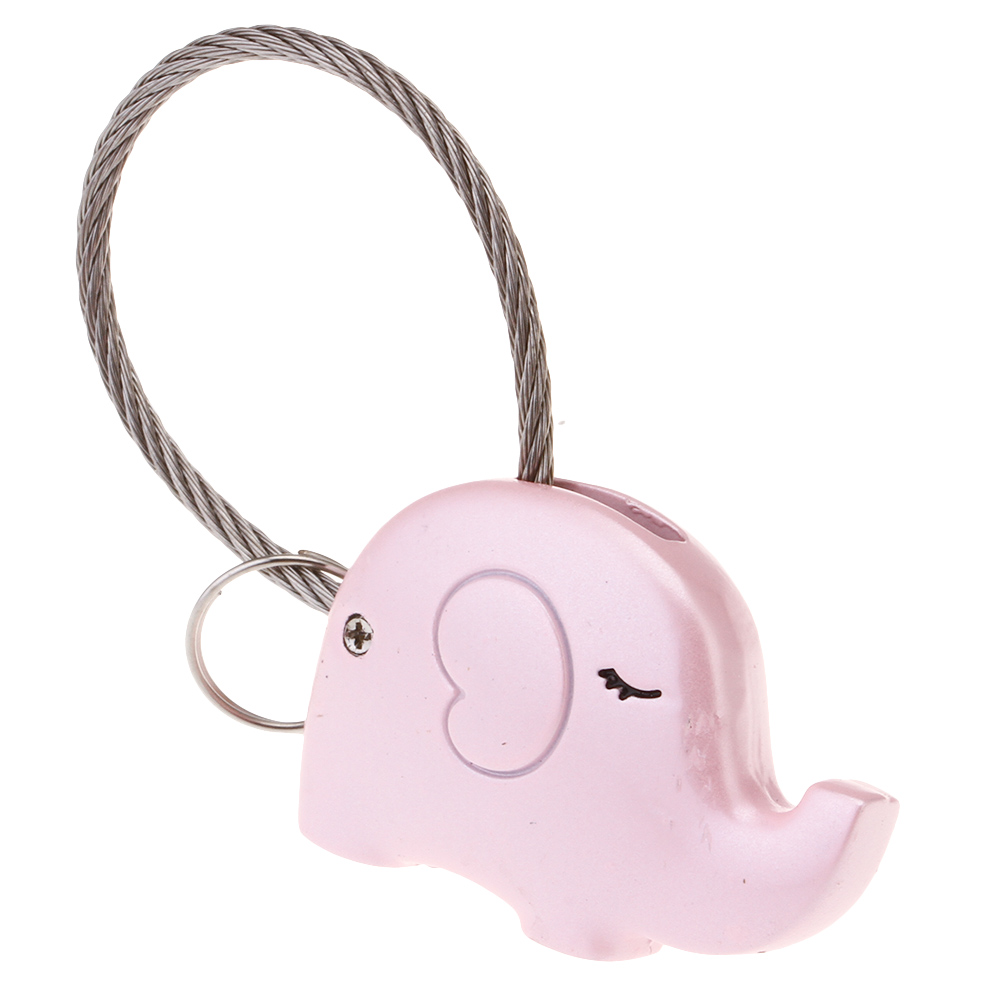 zheFanku Cute Elephant Couple Key Chain Pendant Cartoon Animal Pendant Women Pendant Keyring Keychain