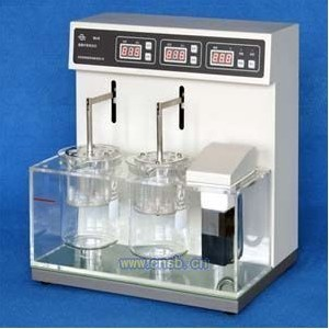 Intelligent Disintegration Time Limit Tester BJ-1 Single Cup, Two Cups Independent GMP Drug Testing InstrumentIntelligent Disintegration Time Limit Tester BJ-1 Single Cup, Two Cups Independent GMP Drug Testing Instrument