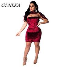 Платье omilka женское осеннее без бретелек с открытой спинкой