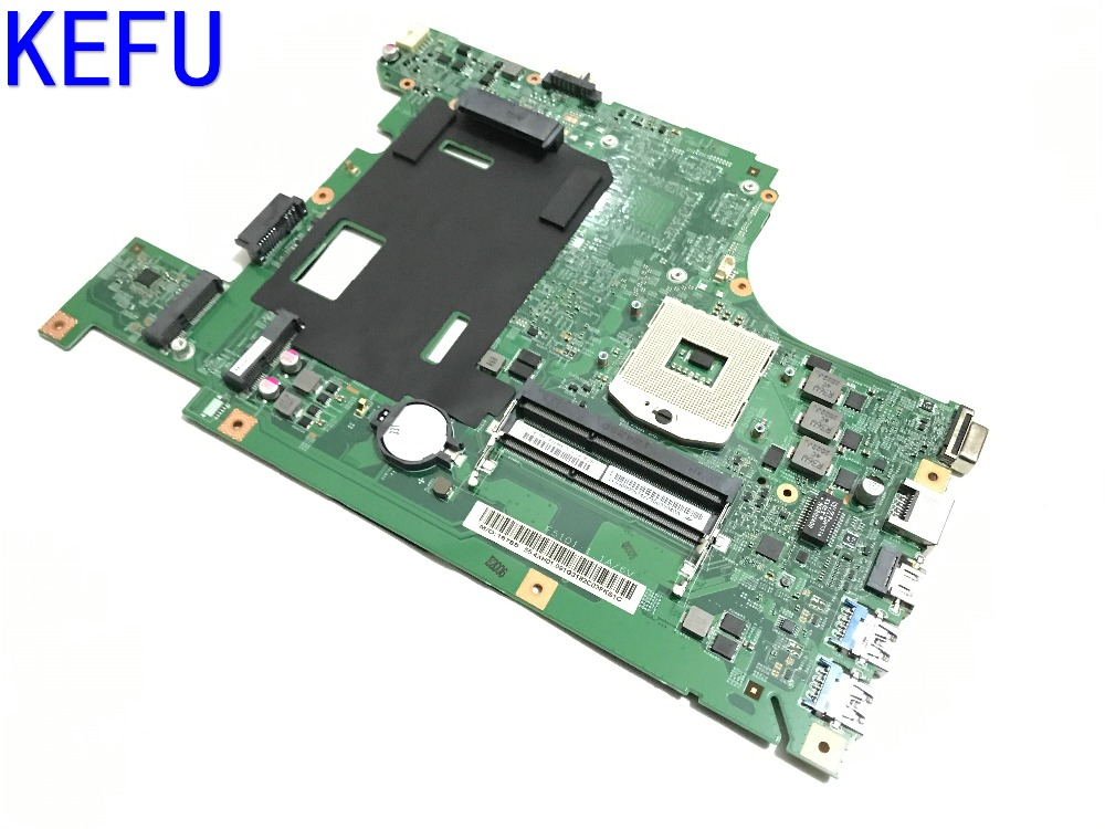 KEFU NEW FREE SHIPPING LA58 MB 11273-1 48.4TE01.011 MAINBOARD laptop Motherboard For LENOVO B590 B580 NOTEBOOK  COMPARE PLEASE free shipping new piwg4 la 6758p rev 1a mainboard for lenovo y770 g770 motherboard with amd 6650m graphic card