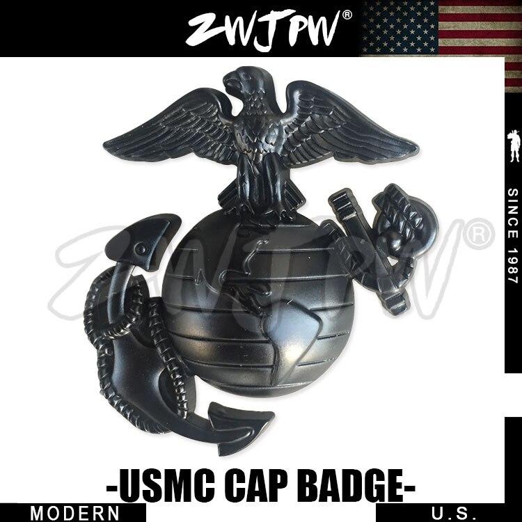 US Navy Marine Corps Offizier Mützenabzeichen USMC Revers Hut Pin ...