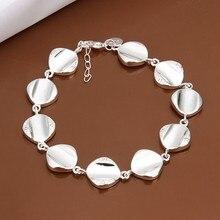 2016 Hot Silver Color Jewelry bracelet, silver plated wristlet vintage-accessories /VQMQPOXM MFSRFYBUI