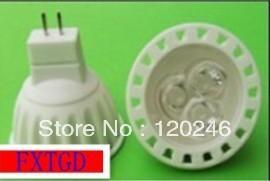 Free Shipping High Power Epistar GU10 9W LED Bulb Spotlight Dimmable Lamp 12V 3x3W Downlight, MR16