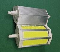 DHL Free Shipping 85 265V COB 12W Dimmable Warm Cold White R7S LED Bulb COB LED