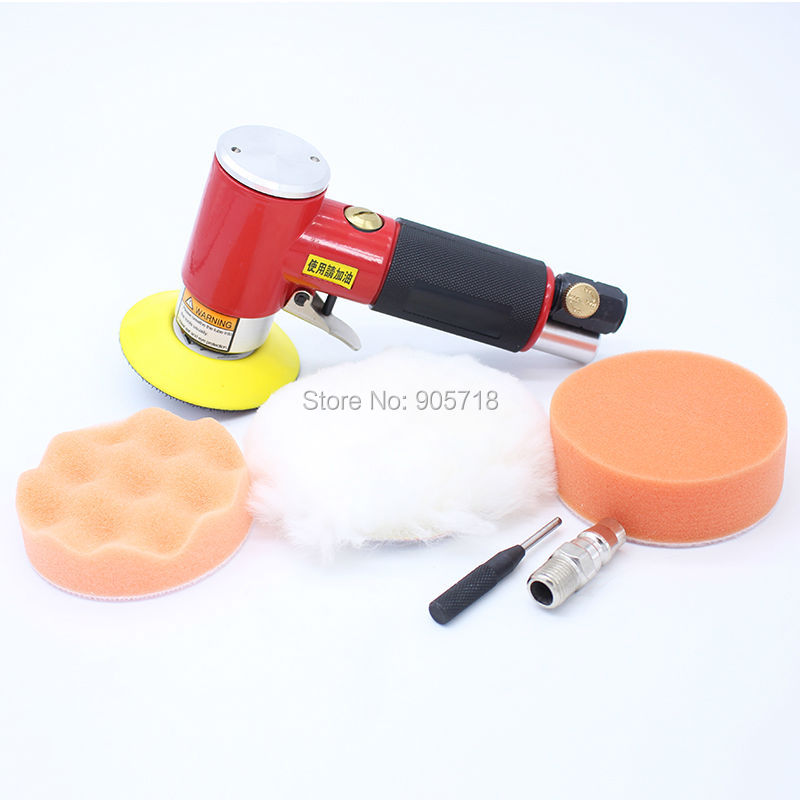 3 inch 90 Degree Air Sander Oribital Pneumatic Polisher Machine Air Grinder Tool 4 inch disc type pneumatic polishing machine 100mm pneumatic sander sand machine bd 0145