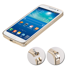 Bumper Metal Mobile Back Cover for Samsung Galaxy  J5 ,J7