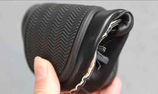 Boyutu 21-30 Ilkbahar Sonbahar Çocuk Ayakkabı Erkek Püskül rahat ayakkabılar Metal Dekorasyon Erkek Loafer'lar #8IC0230