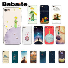 Babaite The Little Prince novedad Fundas accesorios para teléfono funda para iPhone 8 7 6 6 S Plus 5 5S SE XR X XS X MAX Coque Shell(China)