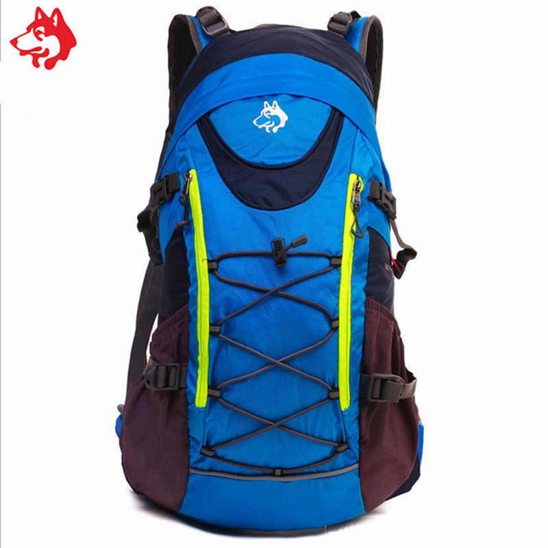 35L μπλε / πράσινο / κόκκινο μόδας στυλ - Αθλητικές τσάντες - Φωτογραφία 3