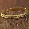 Frase Escovado gravado pulseira 925 Bracelete de Prata Dois lados Stamped Nome Bracelete Personalizado de Jóias Exclusivas para o Amante Atacado