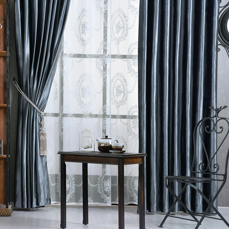 Bedroom Curtains Solid Color Japan Window Shades Imitation: European Flannel Velvet Curtains For Bedroom Luxury Solid