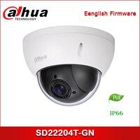 Dahua Ip kamera SD22204T GN 2 7mm ~ 11mm 2MP 4x PTZ Netzwerk Kamera-in Überwachungskameras aus Sicherheit und Schutz bei