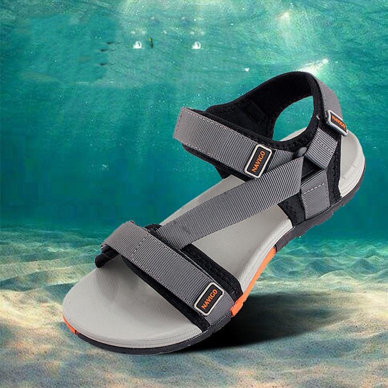 2019 Hot Sale Beach Sandals Men Summer Sandals Men Beach Sandals Man Fashion Outdoor Sneakers Outdoor Sandals
