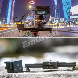 Image 2 - YC Zwiebel Schokolade Motorisierte Kamera Slider Aluminium Legierung Leichte, Tragbare für DSLR Spiegellose Kamera Bluetooth APP Control