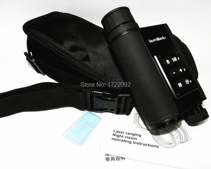 Monokulare nachtsicht entfernungsmesser infrarot monocularteleskop
