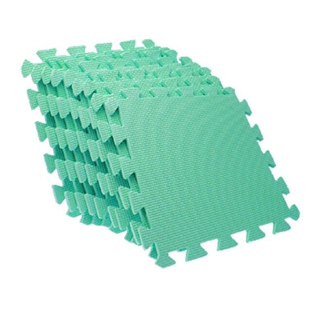 9 PCS Green EVA Puzzle Anti Fatigue Interlocking Foam Floor Mats-in Mat from Home & Garden on Aliexpress.com | Alibaba Group