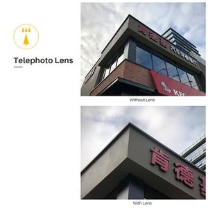 Image 4 - Pholes 6 in 1 Phone Lens iPhone Xs 용 케이스 커버 포함 Max XR 와이드 앵글 매크로 렌즈 Fisheys Zoom 카메라 HD 렌즈 for iPhone