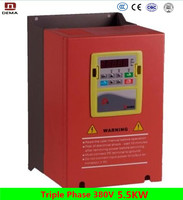 DEMA D6B Series 3 Phase 380V 5.5KW Power Vector AC Frequency Converter 50hz to 60hz For Industrial Machine/Pump /Washing Machine