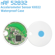 NRF51822 Bluetooth Module Wireless Beacon +KX022 Sensor For iBeacon Base Station(China)