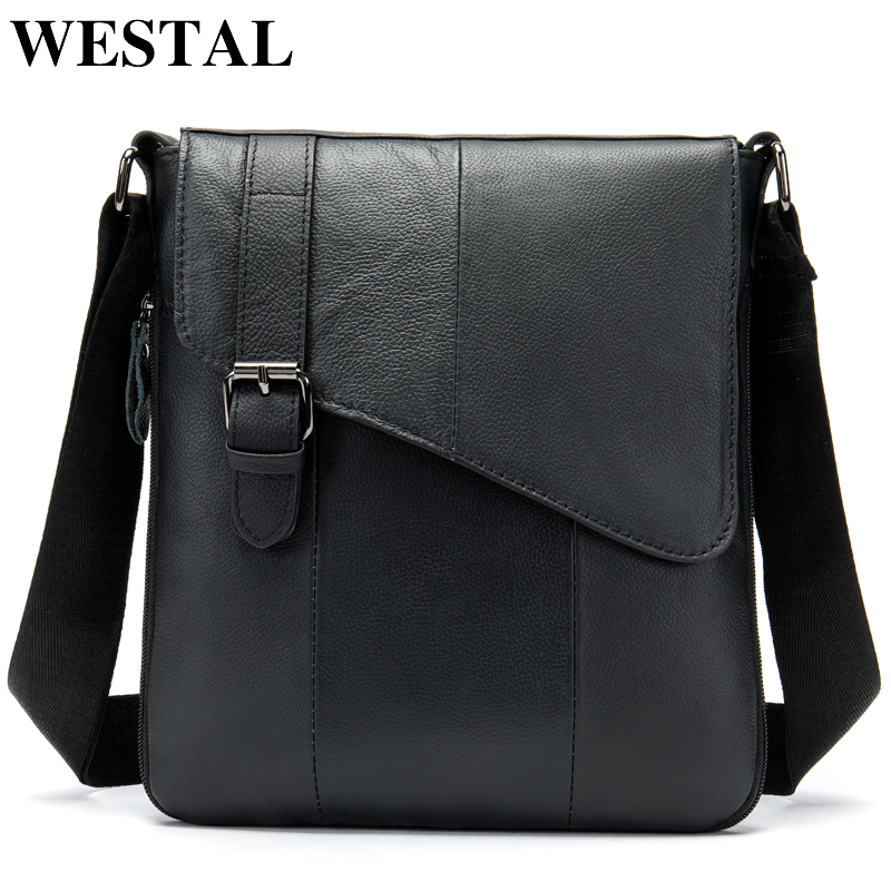 WESTAL genuine leather mens shoulder bags zipper flap crossbody bags for men messenger handbag male leather cover designer bagWESTAL genuine leather mens shoulder bags zipper flap crossbody bags for men messenger handbag male leather cover designer bag