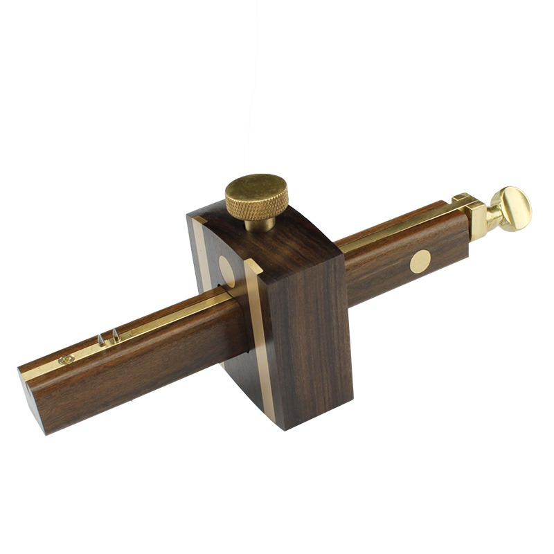 8 Ebony Mark Scraper Scribers Pure Copper Wearproof Carpenter Woodworking Tool Screw Cutting Gauge proac response d 48 ebony