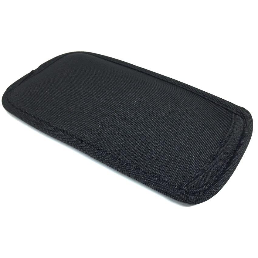 IPhone 4 5S üçün Qara Yumşaq Neoprene Qoruyucu Çanta - Cib telefonu aksesuarları və hissələri - Fotoqrafiya 4
