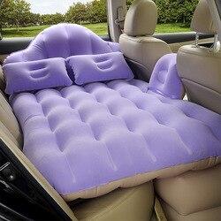 Многофункциональный надувной матрас Rooxin, плавательный круг, автомобильная дорожная кровать для заднего сиденья, подушка для кемпинга с под...