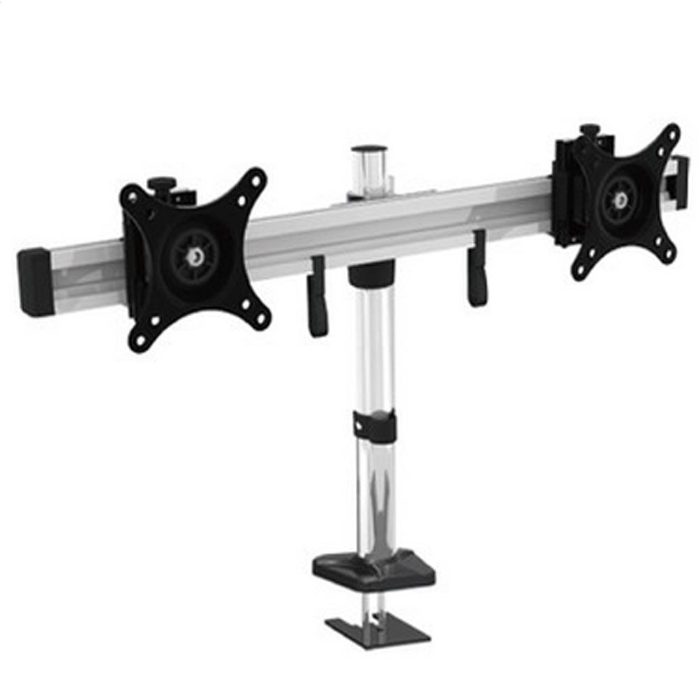 HONGHUA 15- 24 Full Motion Rotating Dual Screen LED LCD Monitor Holder Grommet Desktop Mounting Arm Bracket ttlcd 15 6 lcd led screen for gateway ms2273 ms2274 ms2285