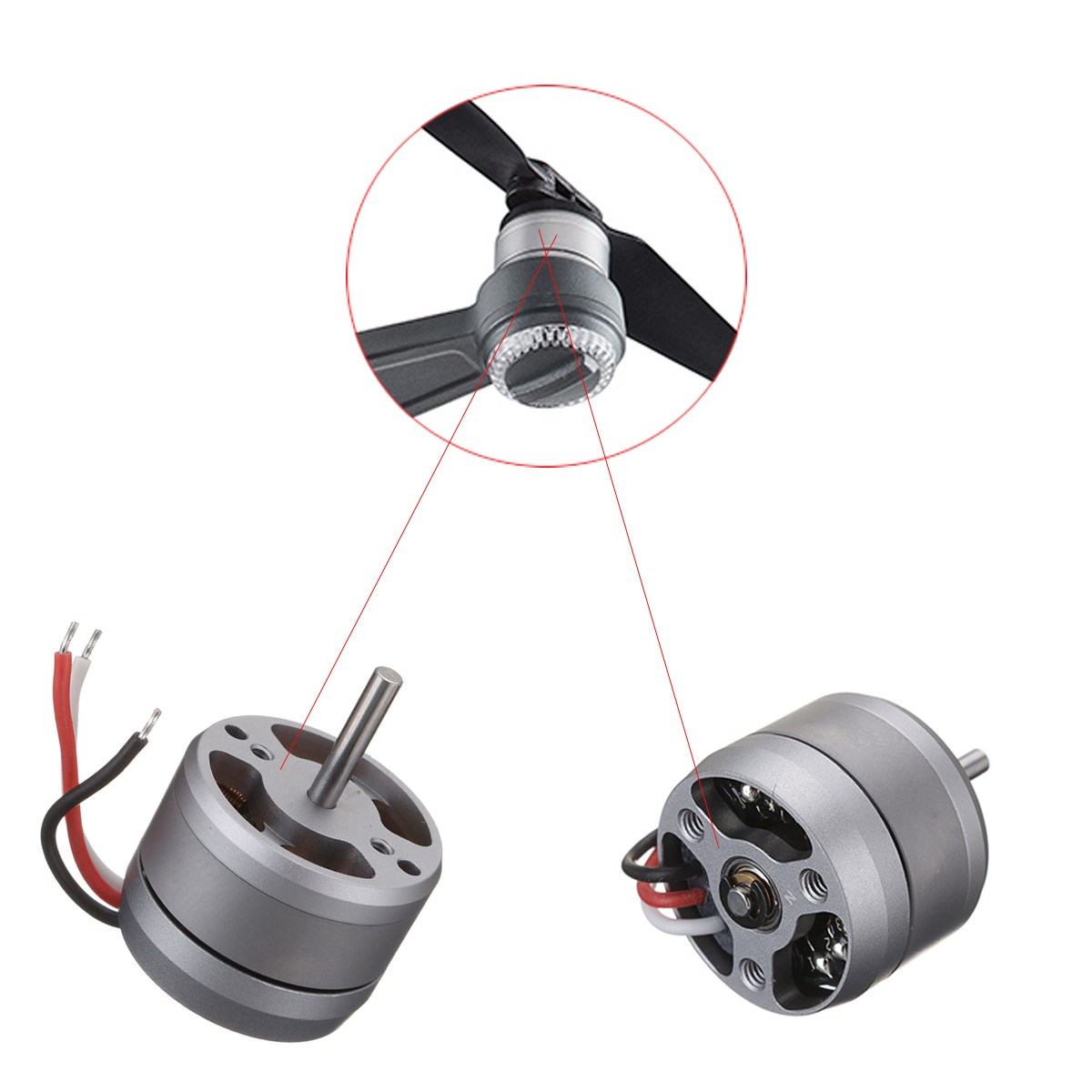 Mini Bare Motor Brushless Repair Part Accessories For DJI Spark Rc Drone