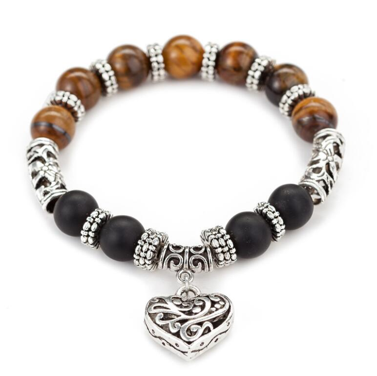 Natural stone  lava rock colorful beads bracelet braceletNatural stone  lava rock colorful beads bracelet bracelet