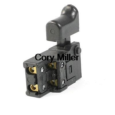 FA2-6/2W Repair Part DPST NO Momentary Trigger Switch 250VAC 6A