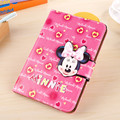 Cute Cartoon Mickey Minnie Case For iPad Mini 4 Cover Stand Leather For Apple iPad Mini4 Case Tablet Protective Cover Funda