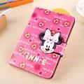Cute Cartoon Mickey Minnie Case For iPad Mini 4 Cover Stand Leather For Apple iPad Mini4 Case Tablet Protective Cover Funda