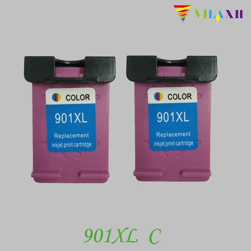 901xl Remanufactured Farbtintenpatrone 901 xl Für HP Officejet 4500 J4580 J4550 J4540...