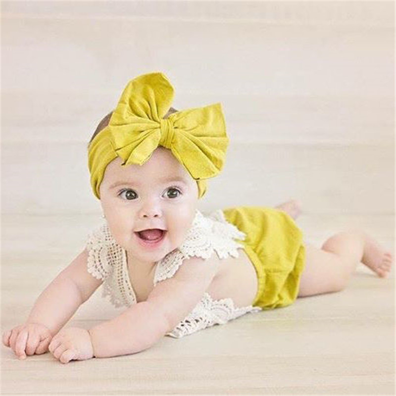 Sleeveless Baby Girls Lace   Rompers   Cute Newborn Toddler Baby Girls Cotton Jumpsuit Clothes Outfits 0-24M