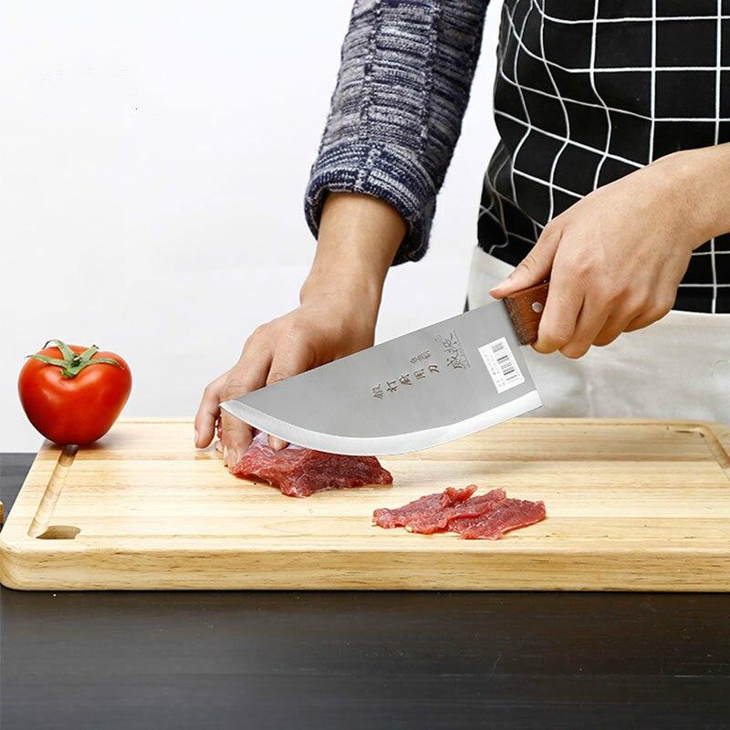 Домашние Кованые Острые клещи утолщенные до резки плечевой нож из нержавеющей стали большой нож для мясника ZP12281021