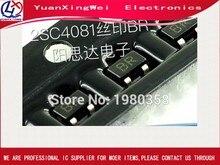 Frete grátis 2sc4081 2sc4081-r 2sc4081t106r sot-323 SC-79 marcação br 100 pçs/lote npn epitaxial transistores de silício planar