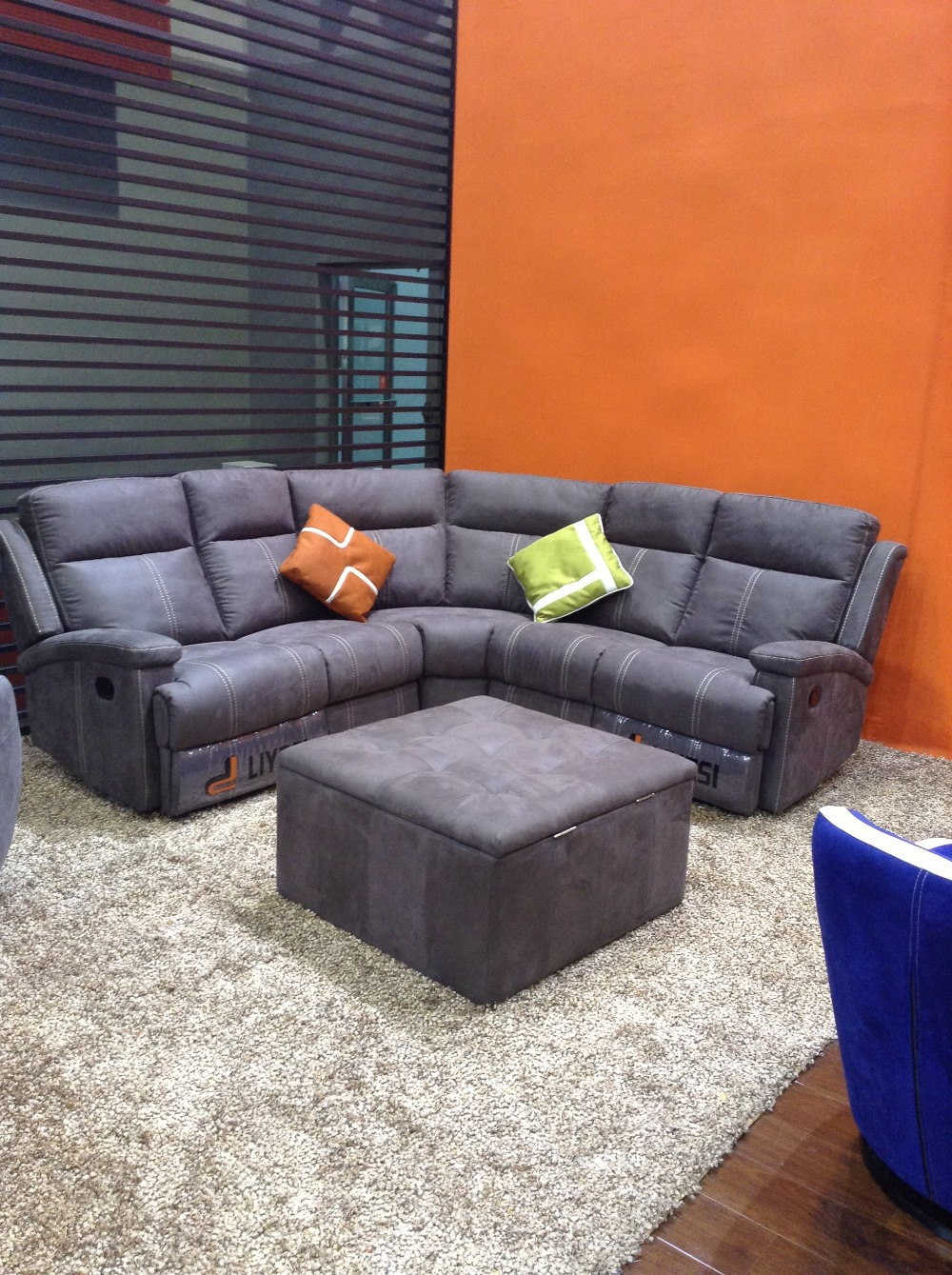 Top Selling Wholesale Living Room European Style Sectional Sofa With Manual  Recliners YB620 In Living Room Sofas From Furniture On Aliexpress.com |  Alibaba ...