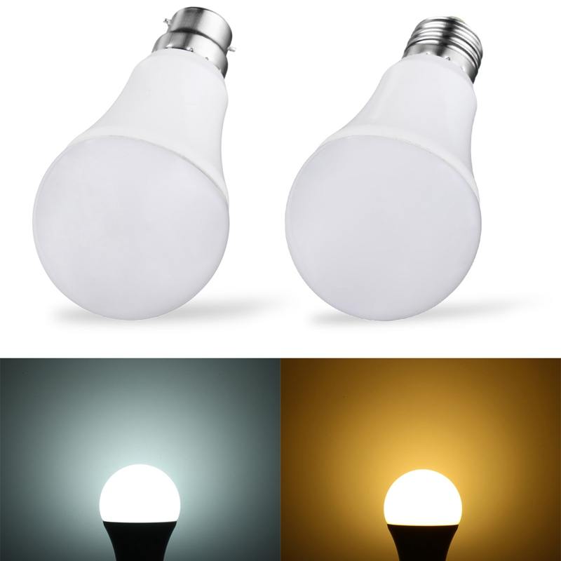 Excellent Quality 7W 5730SMD 14 LED Lamp Bulb E27 B22 Light Control Auto LED Light Bulb Bulb No Flicker 410lm AC85-265V led bulb 5736 smd more bright 5730 led corn lamp bulb light real full wat 3 5w 5w 7w 8w 12w 15w e27 e14 85v 265v no flicker