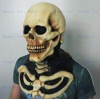2013 Hot bán Full đầu Awesome Skull Mask Impressive đạo cụ trang phục Realisic Halloween đạo c