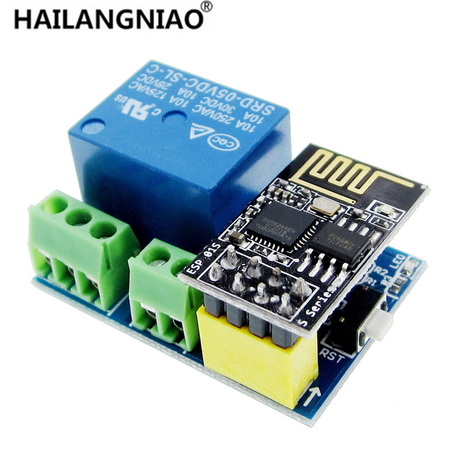ESP8266 ESP-01S 5V WiFi Relay Module Things Smart Home Remote Control Switch for Phone APP ESP01 Wireless WIFI Module
