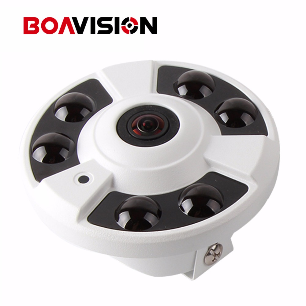 Panorama IP Camera POE 4MP 2592*1520 With 360 Degrees Full View Fisheye Camera Support Onvif And P2P Cloud View,Indoor Use 1 to 4 video cutting panorama ir ip camera poe 3mp 360 degrees view fisheye cctv camera support onvif p2p cloud ie view