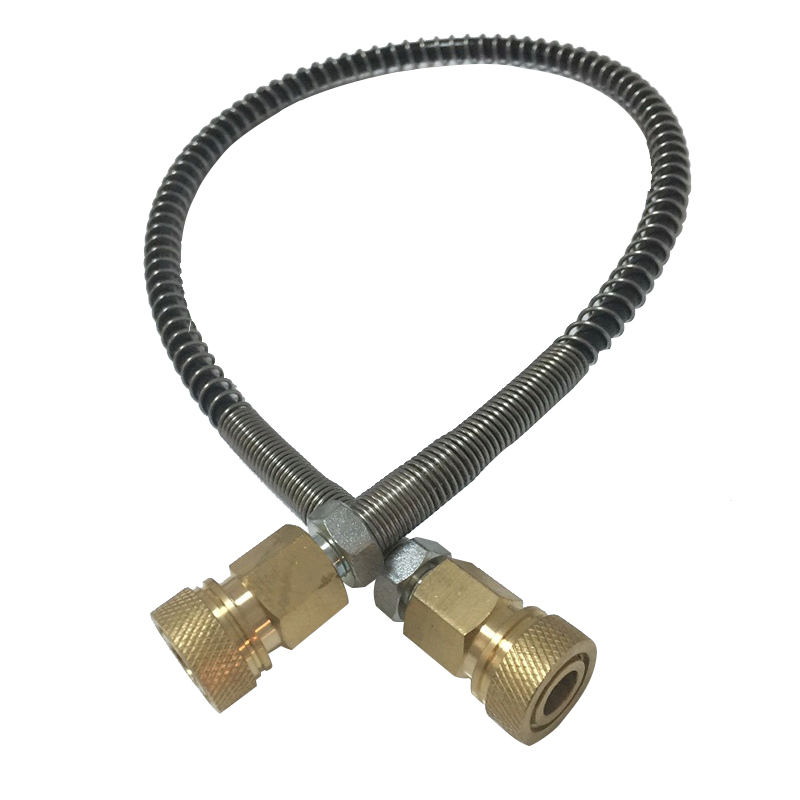 AC89 Refill Airgun 4500PSI HPA Tank Paintball Cylinder 530mm PCP Pump Filling Station Hose With Female Quick Connector Acecare